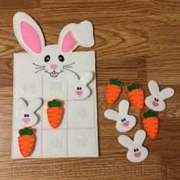 Развивающая игрушка из фетра «Кролик». Мастер-класс.