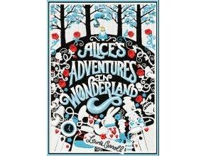 Алиса в стране Чудес дизайн для книги-клатча