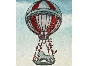 Воздушный шар (высота 19 см)