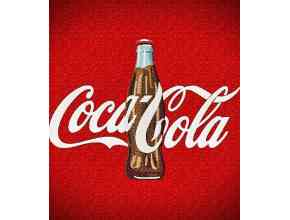 "Банка с напитком ""Coca Cola"" (ширина 20 см)"