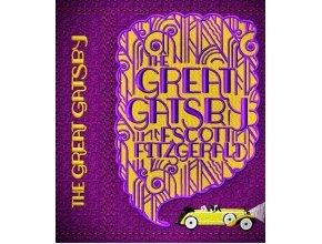 """""""Великий Гэтсби"""" Скотт Фицджеральд (обложка для книги или клатча)"""