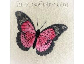 Бабочка дизайн машинной вышивки-2