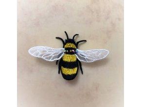 Пчела Брошь Дизайн машинной вышивки ФСЛ