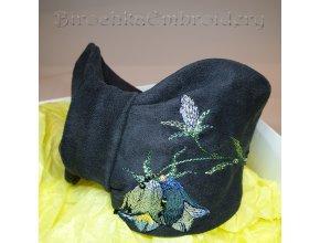 Headband Bluebells Machine embroidery design
