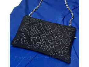 Клатч Алмазная Мозаика и бордюр для отделки одежды Дизайн машинной вышивки
