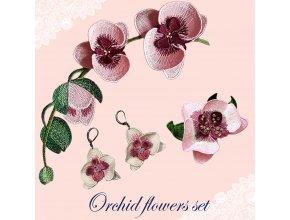 Набор дизайнов Орхидеи 40% скидка