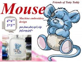 Мышка Друзья Татти Тедди старые игрушки