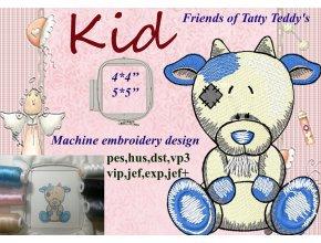 Козленок друзья Татти Тедди старые игрушки