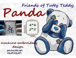 Панда друзья Татти Тедди старые игрушки